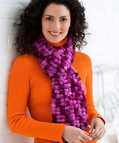 Вязание красивого шарфа женского спицами